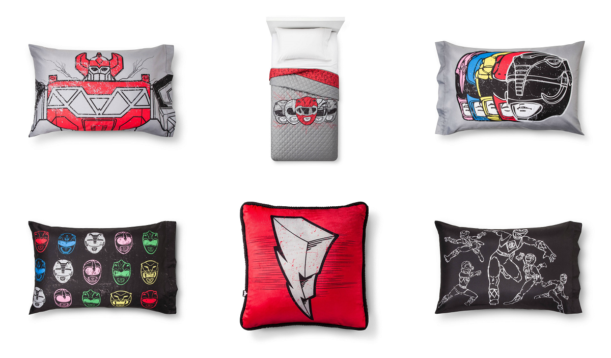 Mighty Morphin Adult Bedding Revealed Power Rangers Now